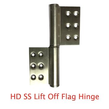 HD SS Lift Off Flag Hinger