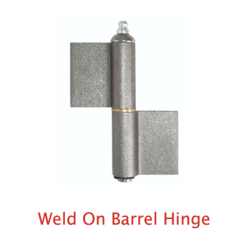 Weld On Barrel Hinge