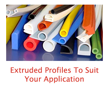 extruded rubber silicone