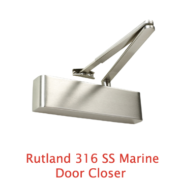 Rutland 316 SS Marine Door Closer