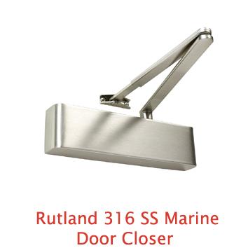Rutland 316 SS Marine Door Closer